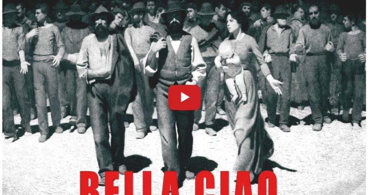 """Il mondo canta """"Bella Ciao"""" – video"""
